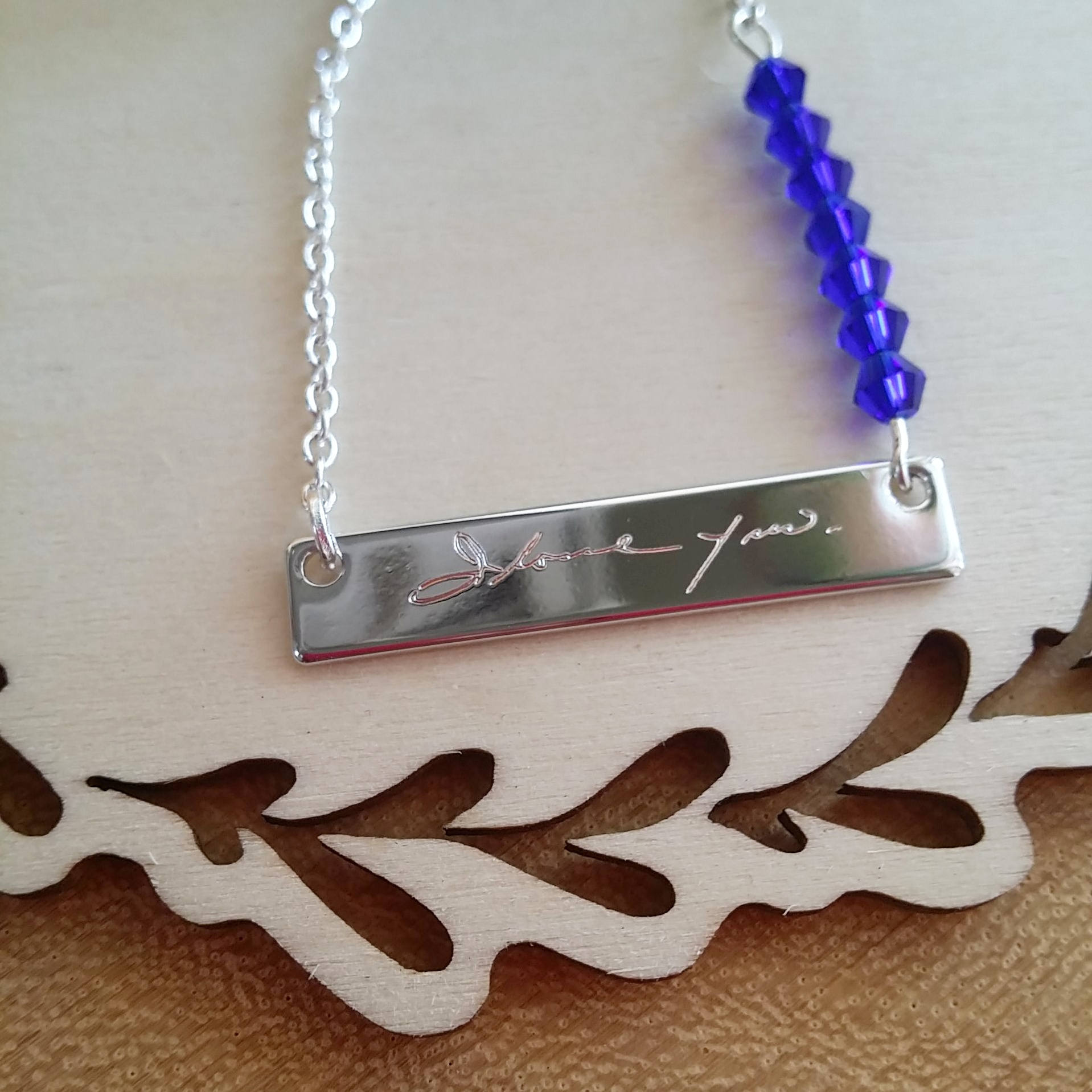 prev & Mothers day gift Actual Handwriting necklace Personalized ...