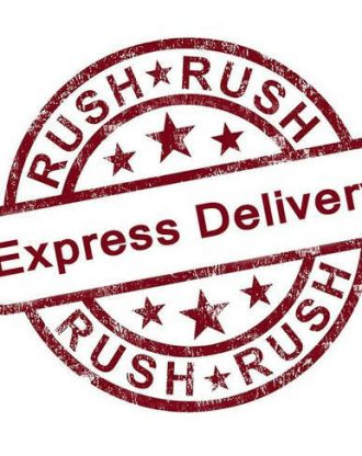 Rush my order – Express 1-2 Days Delivery